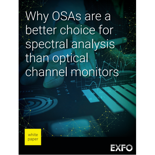 Why OSAs are a better choice for spectral analysis than optical channel monitors
