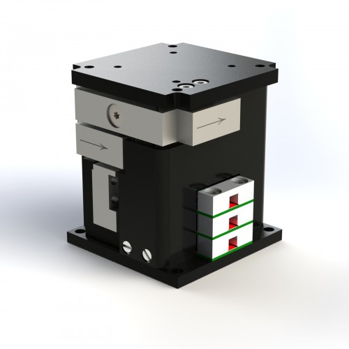 Triple-Axis Nanopositioners for Microscopy and Photonics