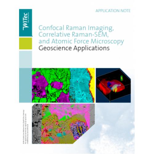 Correlative Raman-SEM and Atomic Force Microscopy in Geoscience