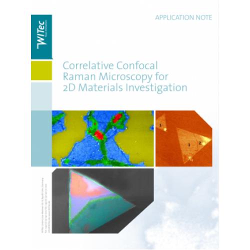Correlative Confocal Raman Microscopy for 2D Materials Investigation