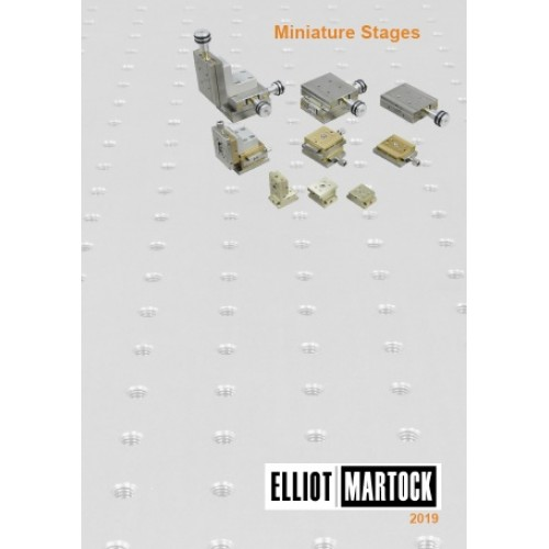 CATMS- Miniature Stages Mini-catalogue