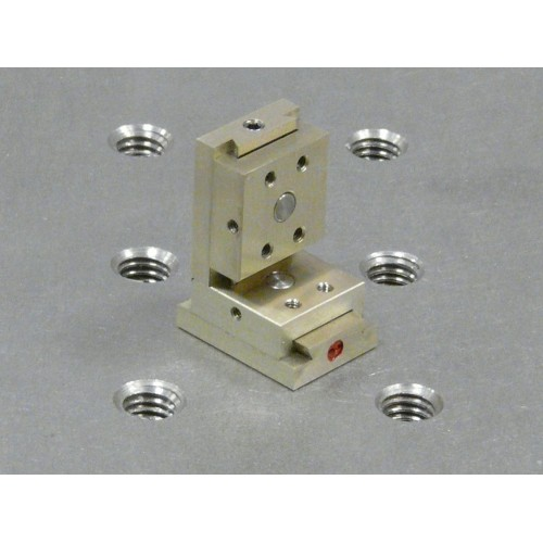 MDE268 - Dual Axis Ultra-Small XZ Micropositioner Stage