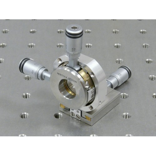 MDE257M - XYZ Centring Micropositioner with Micrometers