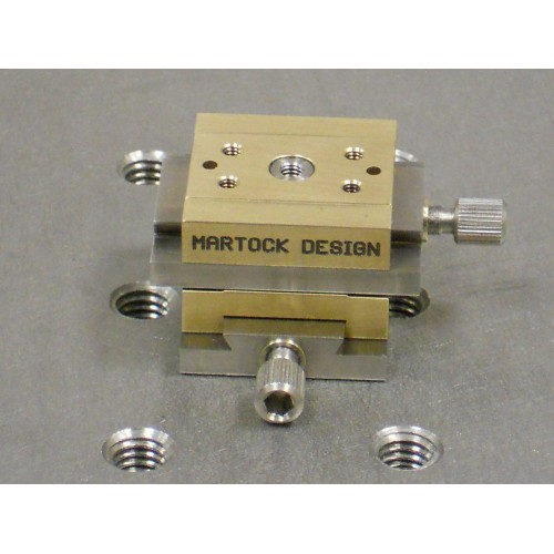 MDE262 - Dual Axis Very-Small XY Micropositioner Stage