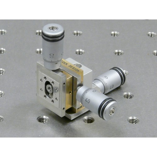 MDE263M - Three-Axis Very-Small XYZ Micropositioner Stage with Micrometers