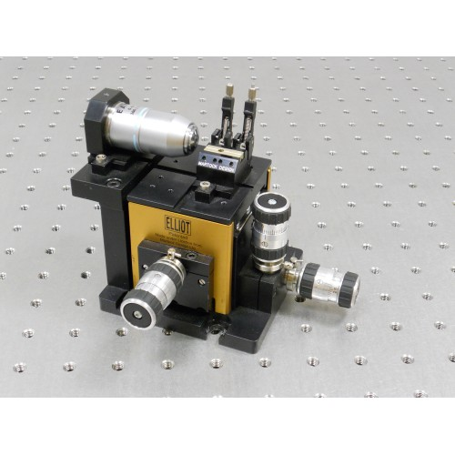 MDE510 - Elliot Gold™ Series Fibre Launch System with High Precision Adjusters