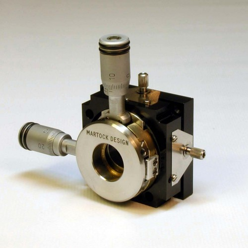 MDE276M - Four-Axis Micropositioner with Micrometers
