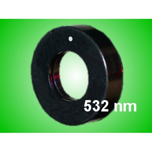 WVPZF-H-0.50-V1-V1-M-532 - High Power Zero-Order λ/4 Waveplate: 532 nm