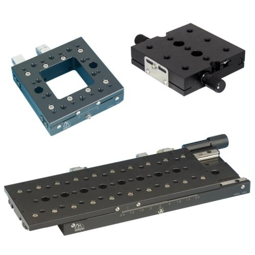 "Linear Stages with up to 100 mm (4"") Travel"