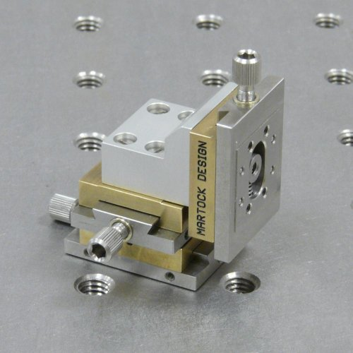 MDE263LM-V Three-Axis Very-Small XYZ Micropositioner Stage (Low Magnetic Vacuum version)