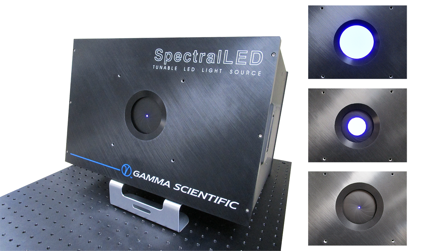 Gamma Scientific RS-7 SpectralLED with motorised iris