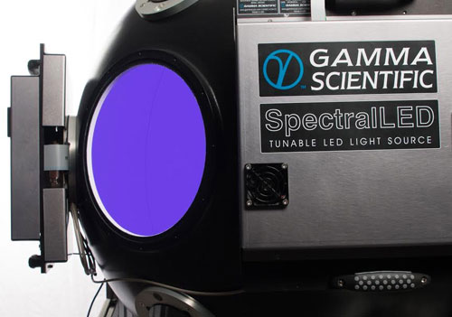Gamma Scientific RS-7 SpectralLED & Integrating Sphere